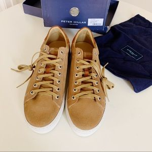 Peter Millar Crown Suede Low Casual Shoes